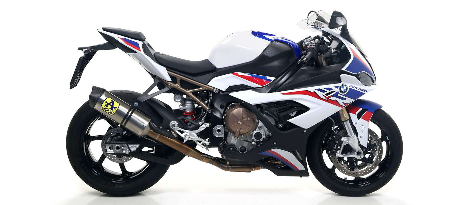 arrow competition evo racing exhaust full system for the bmw s1000rr 2019 and 2020 model