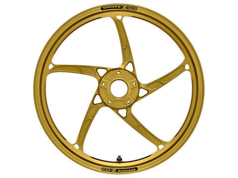 oz racing piega r gold lightweight racing front motorcycle wheel