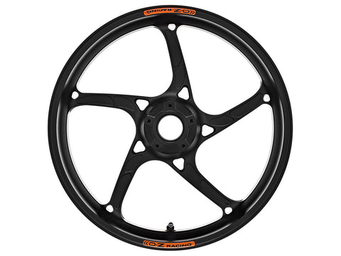 oz racing piega r black lightweight racing motorcycle wheels