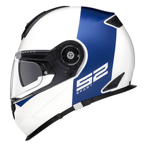 Schuberth s2 redux white and blue