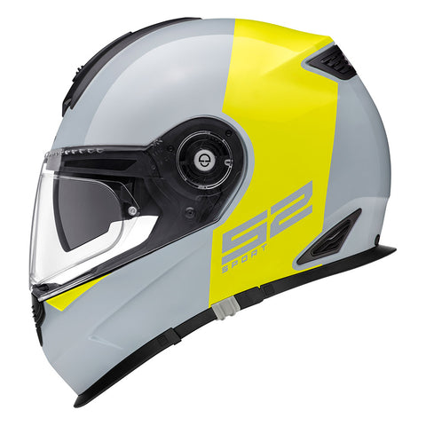 Schuberth s2 redux grey and yellow