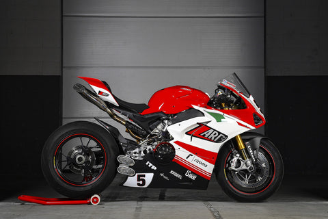 Zard exhausts Ducati panigale v4 v4r face system