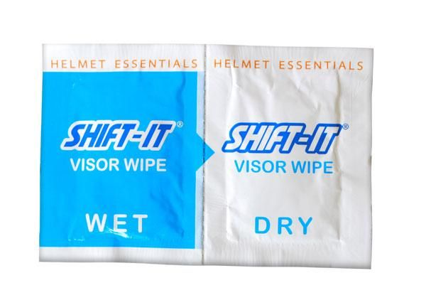 Visor Wipes, Visor Wipes, Shift-It - Averys Motorcycles