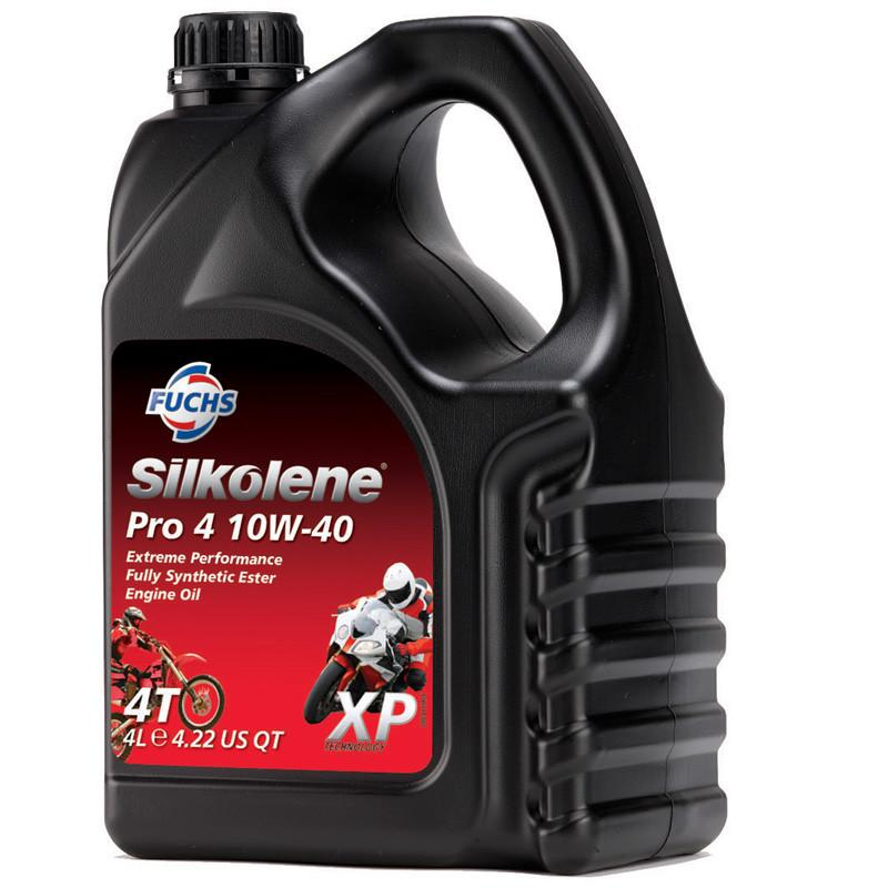 Pro 4, Engine Oil, Silkolene - Averys Motorcycles