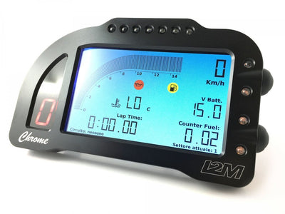 I2M Chrome Lite, Dash, I2M - Averys Motorcycles
