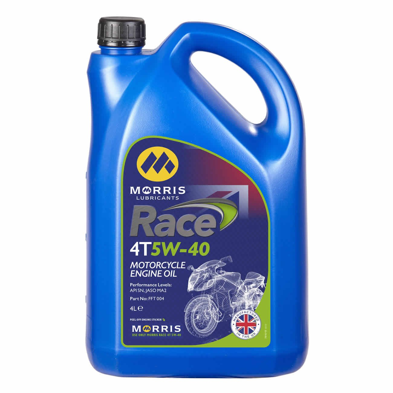 Race 4T 5W-40, Engine Oil, Morris Lubricants - Averys Motorcycles
