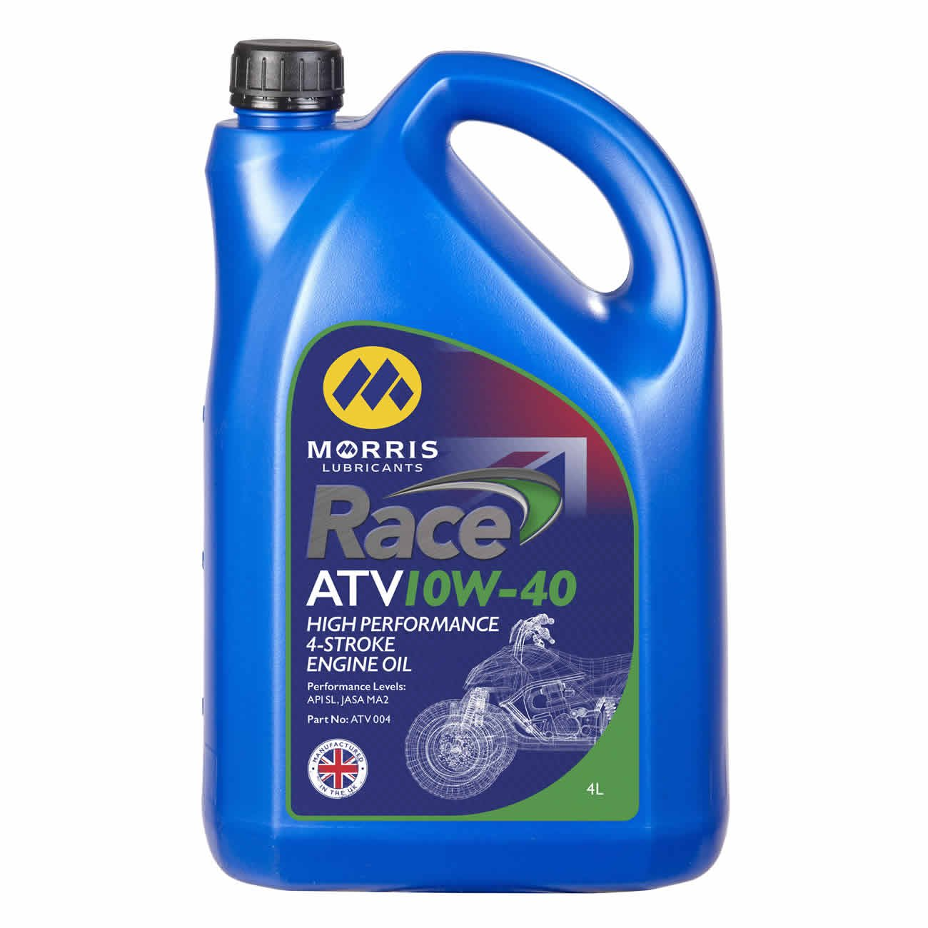 Race ATV 10W-40, Engine Oil, Morris Lubricants - Averys Motorcycles