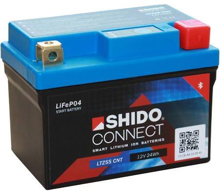 Shido Connect Smart Battery, Lithium Battery, Shido - Averys Motorcycles
