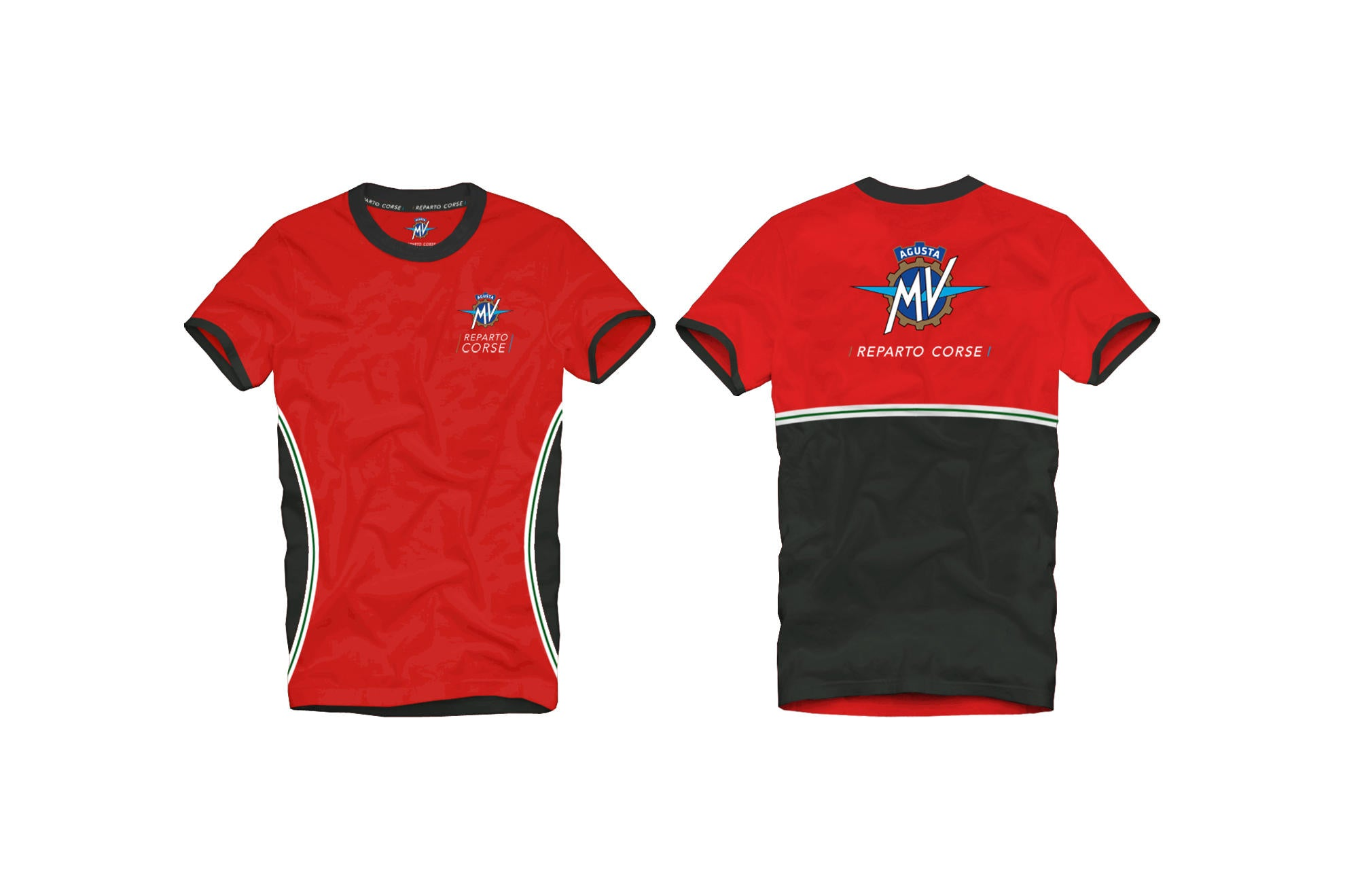 MV Agusta Reparto Corse T-shirt, MV Agusta Clothing, CNC Racing - Averys Motorcycles
