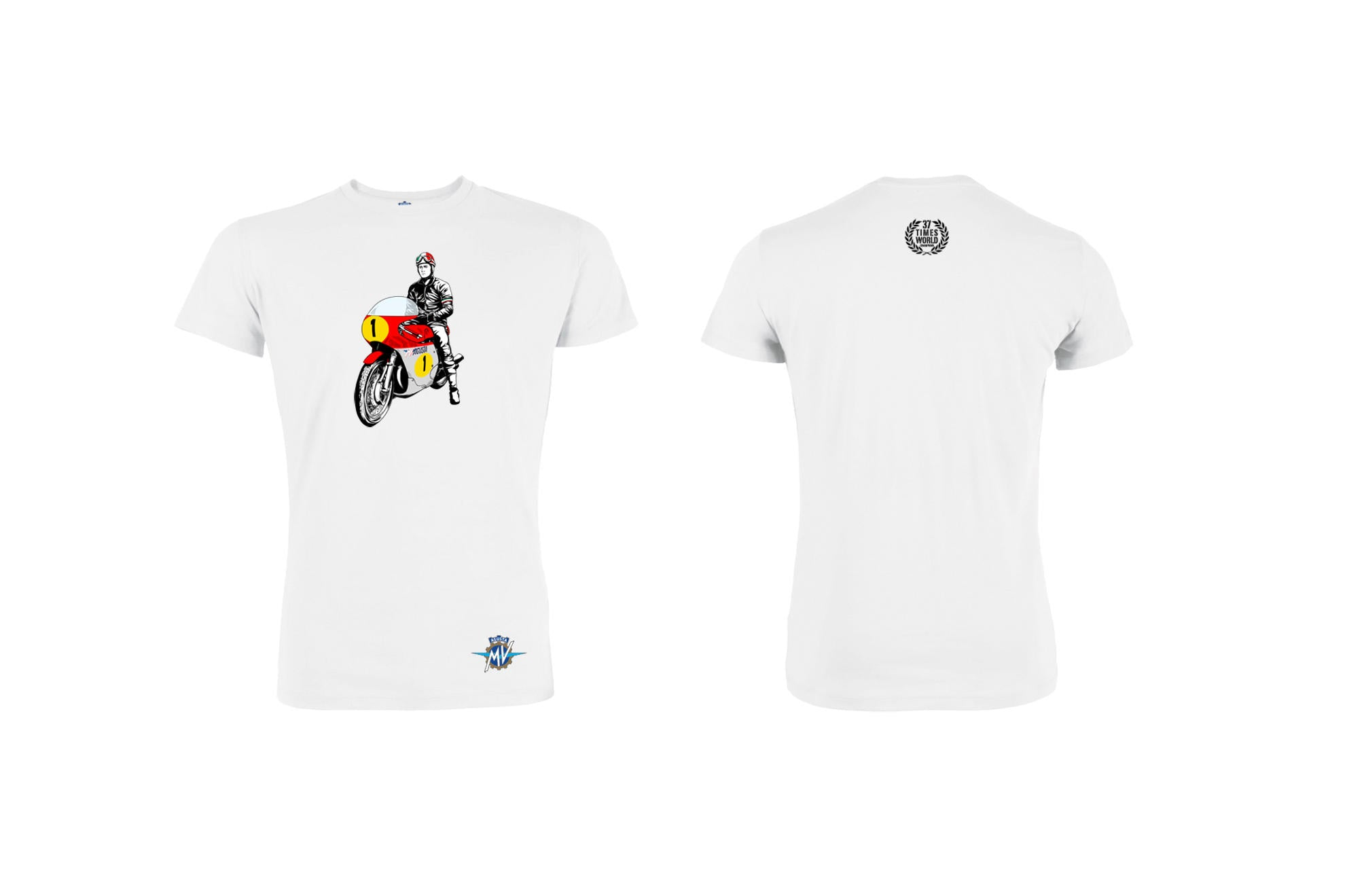 MV Agusta Vintage T-shirt, MV Agusta Clothing, CNC Racing - Averys Motorcycles