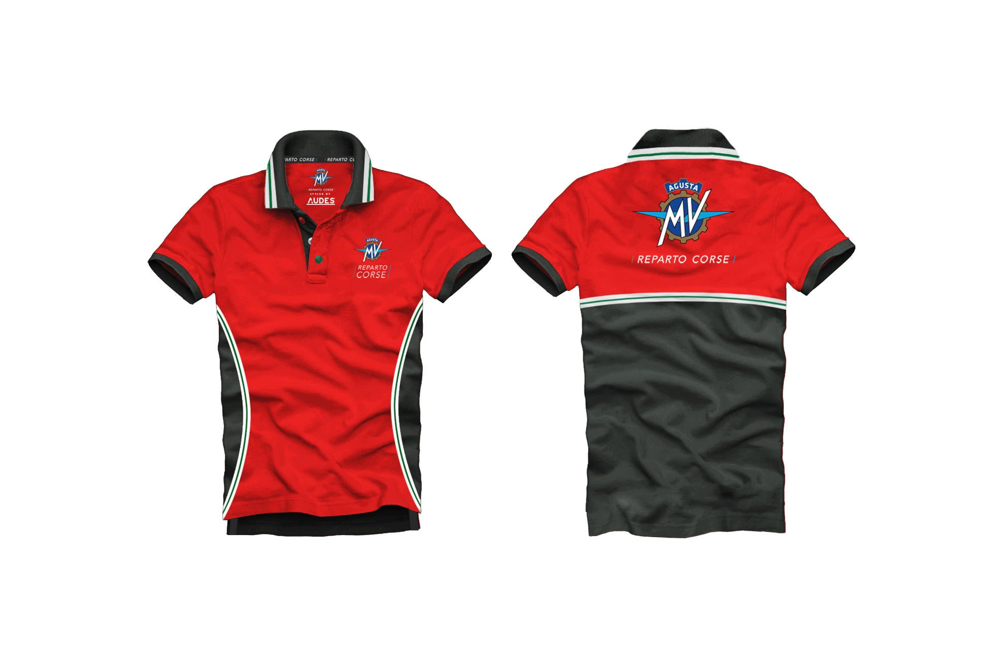 MV Agusta Reparto Corse Polo Shirt, MV Agusta Clothing, CNC Racing - Averys Motorcycles