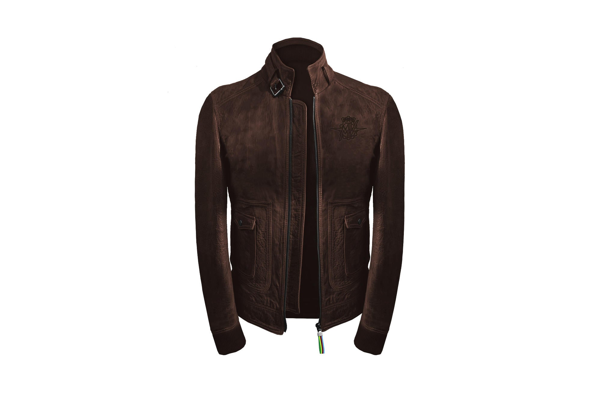 MV Agusta Vintage Leather Jacket, MV Agusta Clothing, MV Agusta - Averys Motorcycles