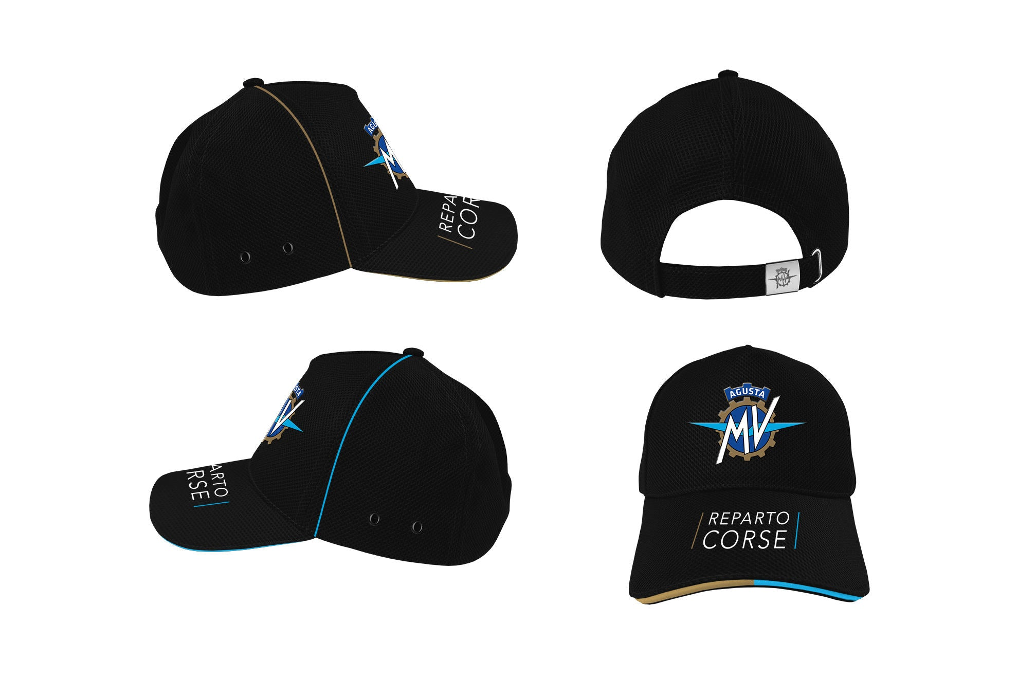 MV Agusta Piping Baseball Cap, MV Agusta Clothing, CNC Racing - Averys Motorcycles