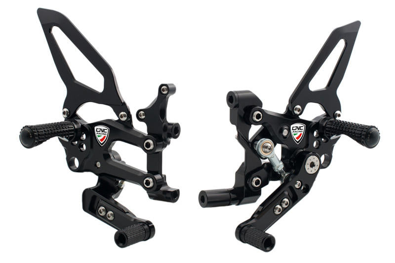 Panigale - Adjustable Easy Rearsets, Rearsets, CNC Racing - Averys Motorcycles