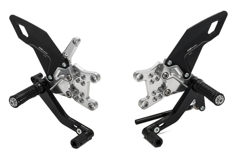 Aprilia - Adjustable Easy Rearsets, Rearsets, CNC Racing - Averys Motorcycles