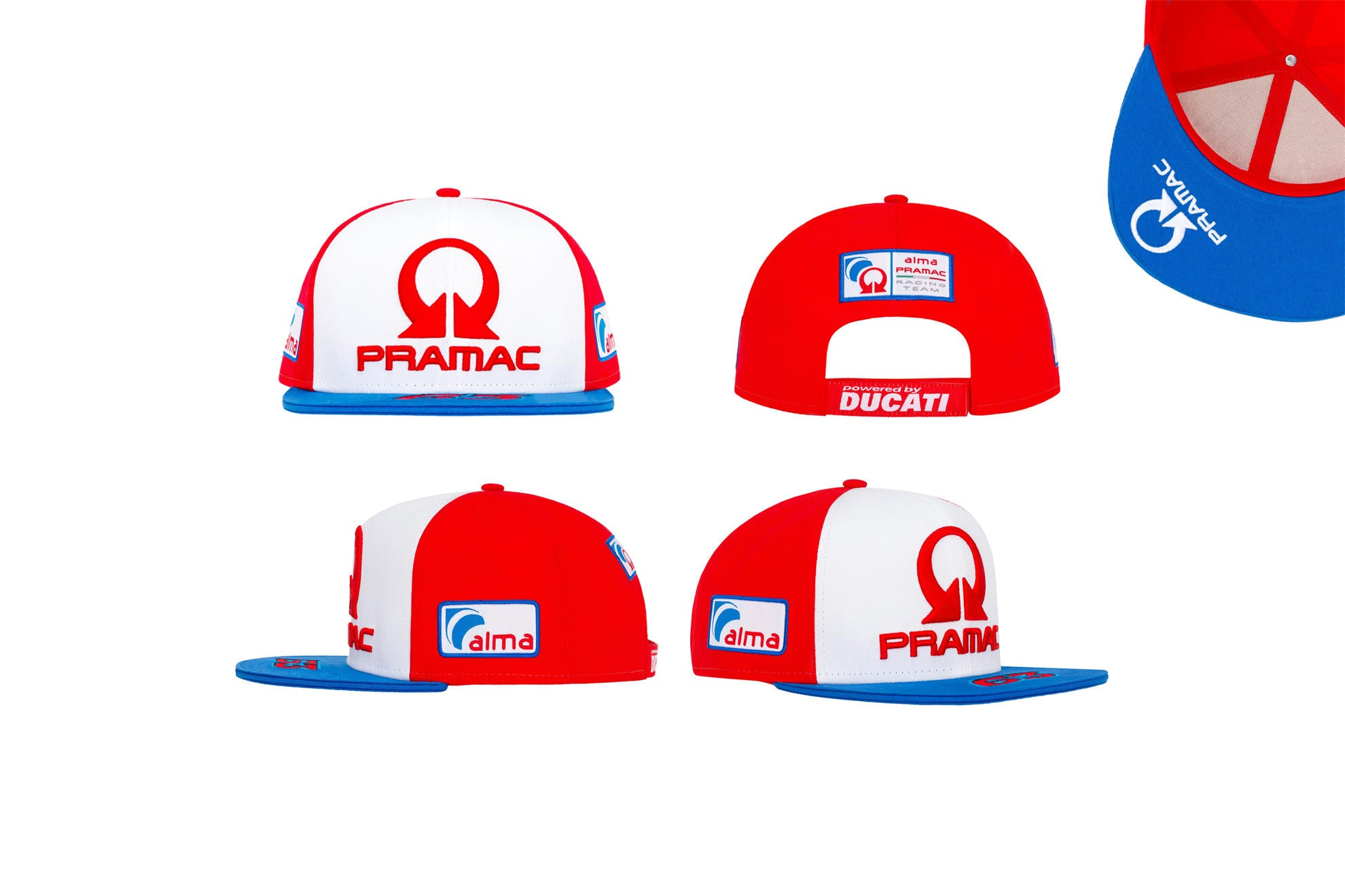 Pramac Racing Francesco Bagnaia Baseball Cap, Cap, Pramac Racing - Averys Motorcycles