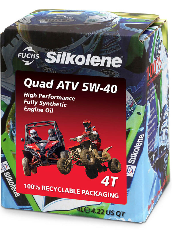 Quad ATV Oil, Engine Oil, Silkolene - Averys Motorcycles