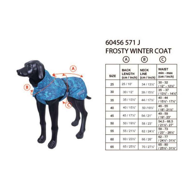 Rukka Coat - Frosty Winter Jacket, Pet Clothing, Rukka Pets - Averys Motorcycles