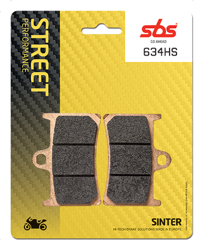 Honda 125-800cc SBS Brake Pads HS Compound, Brake Pads, SBS - Averys Motorcycles