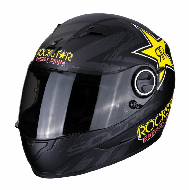 Scorpion EXO 490 Rockstar Matt Black