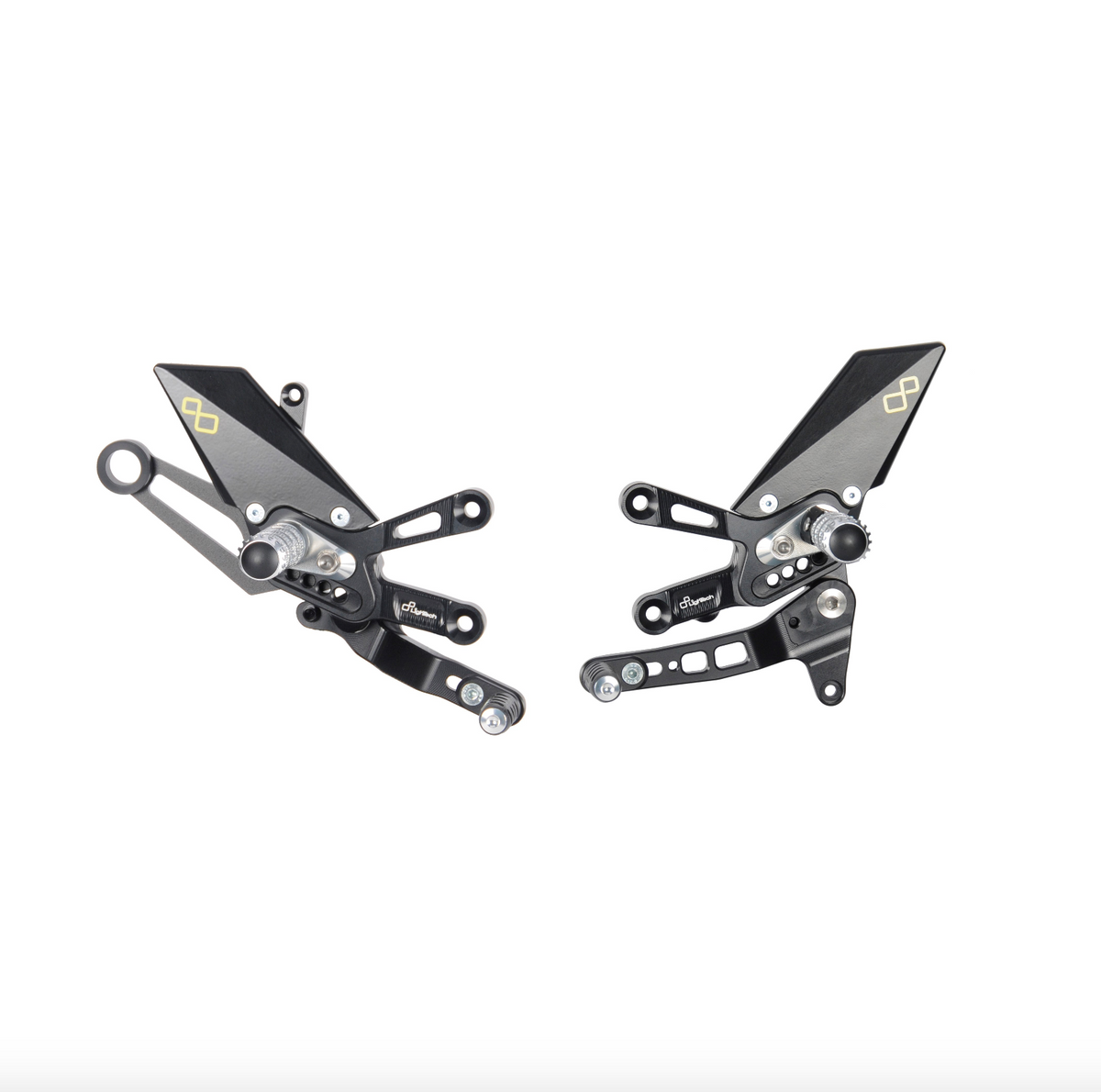 Aprilia - Adjustable Rearsets - Averys Motorcycles