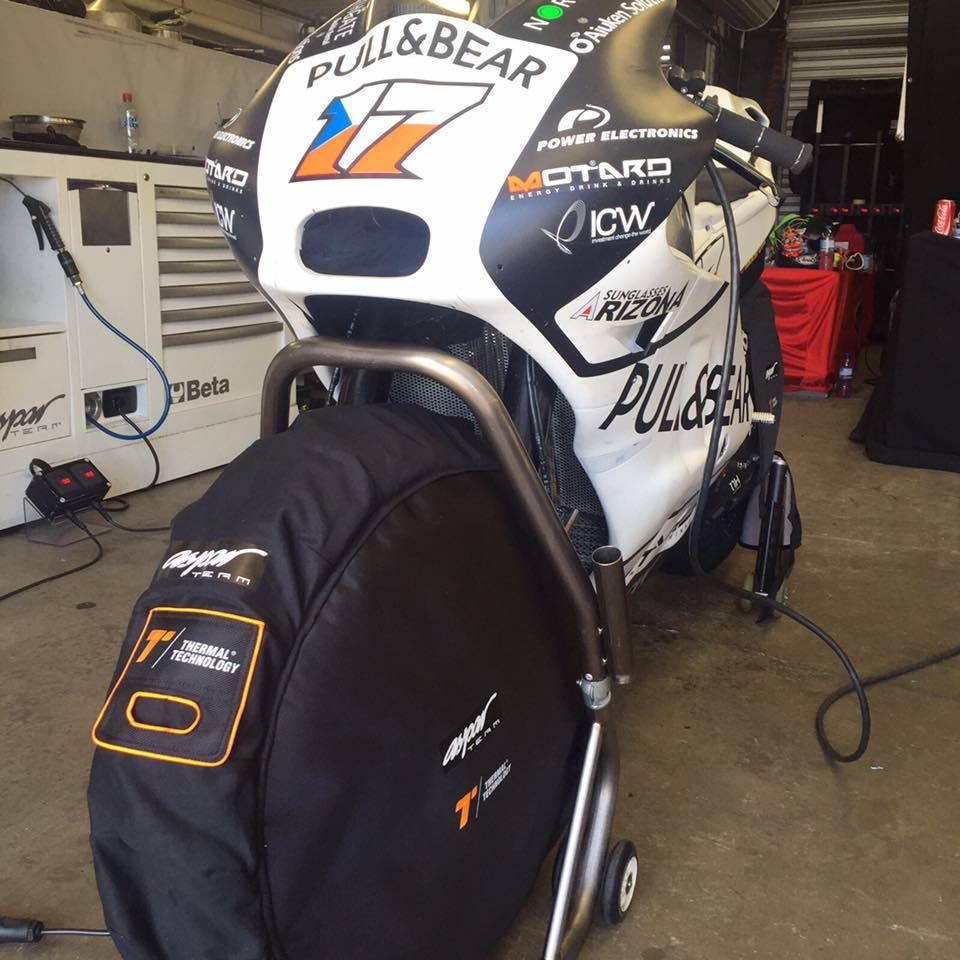 Wind Protector, Tyre Warmers, Thermal Technology - Averys Motorcycles