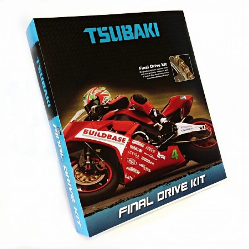 Tsubaki Final Drive Kit Aprilia RSV4 2009-10 / Tsubaki Alpha Chain - Race and Trackday Parts