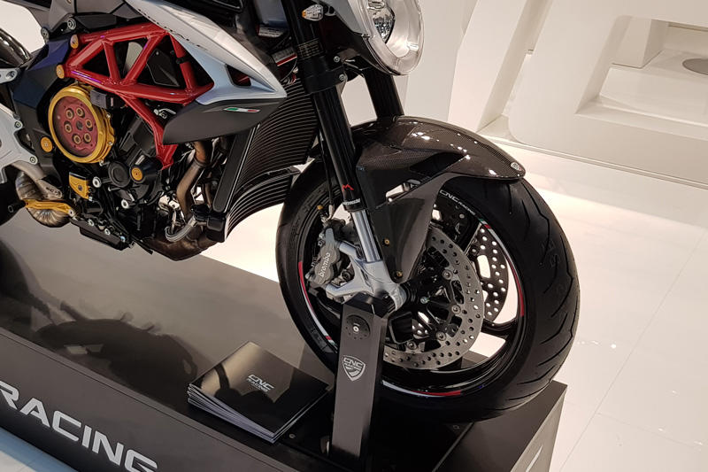 MV Agusta - Carbon Mudguard, Carbon Parts, CNC Racing - Averys Motorcycles