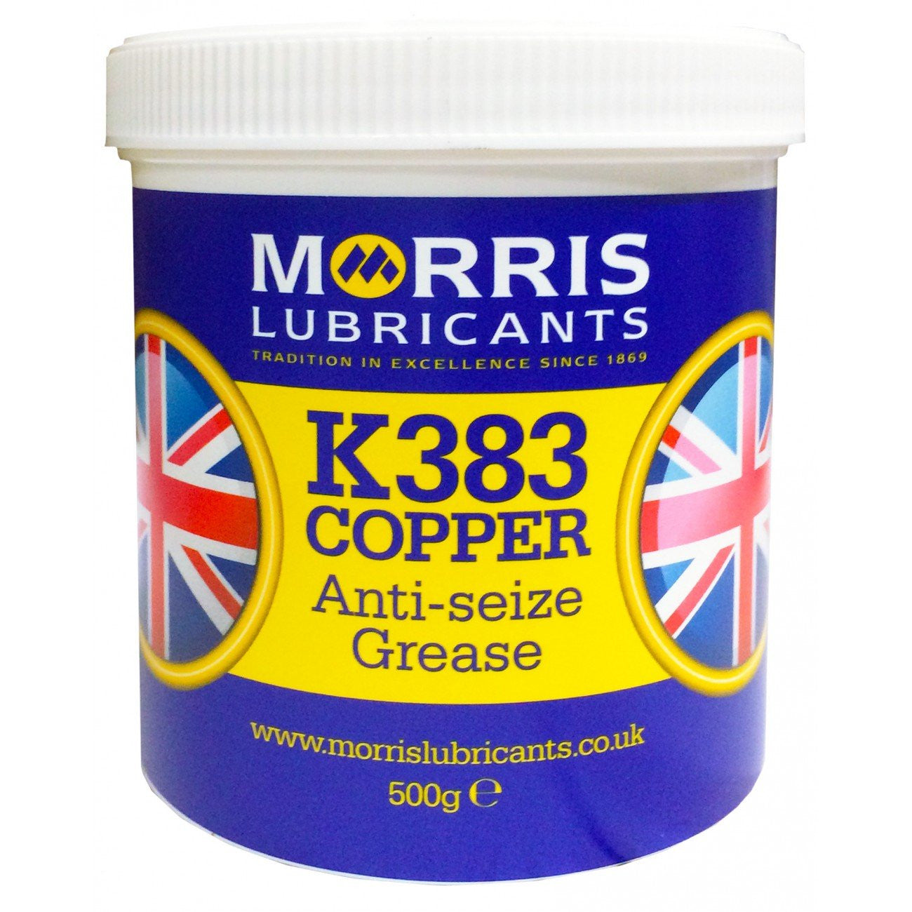 K383 Copper Grease, Grease, Morris Lubricants - Averys Motorcycles