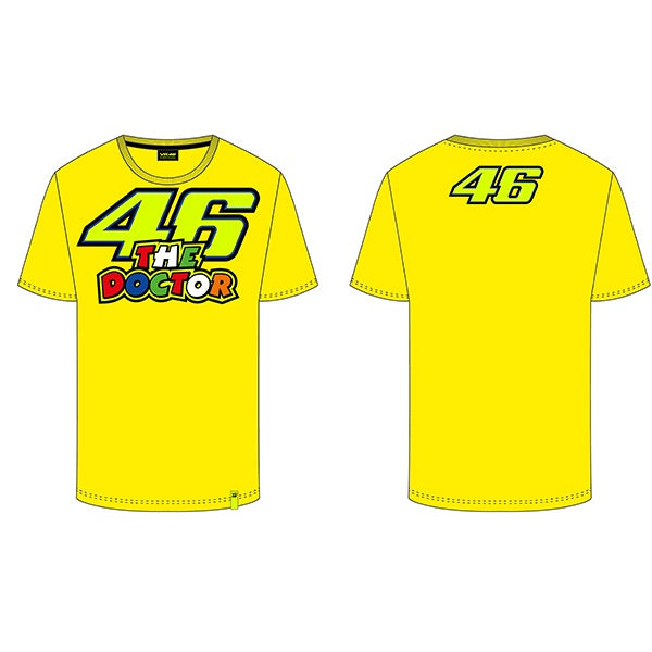 VR46 The Doctor T-Shirt, T-shirt, VR46 - Averys Motorcycles
