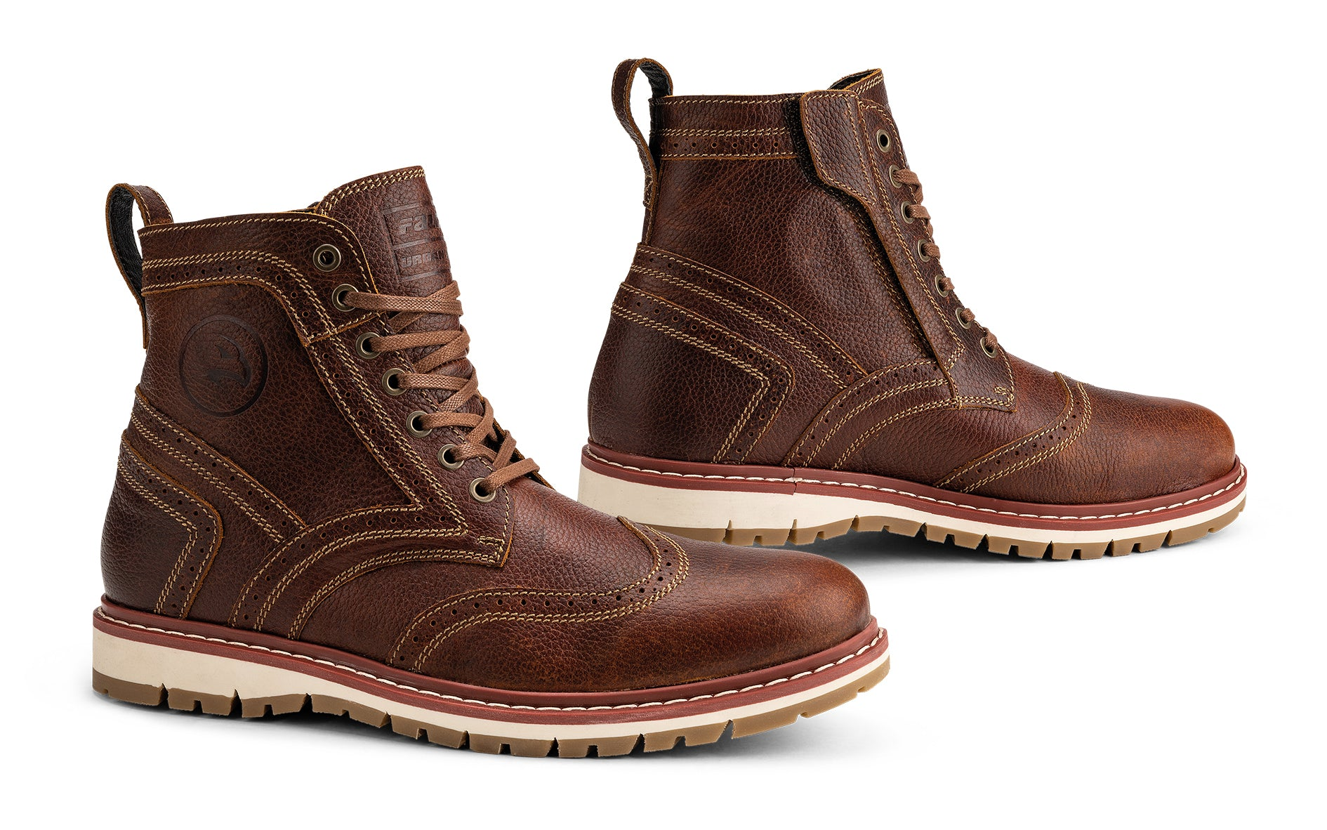 Falco Brogue Boots, Boots, Falco - Averys Motorcycles