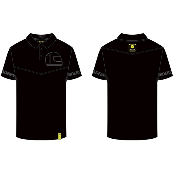 VR46 Riders Academy Polo, Polo Shirt, VR46 - Averys Motorcycles