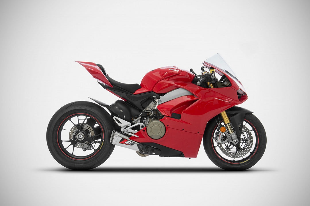 Zard Exhausts - Ducati Panigale V4/S Slip-Ons, Exhaust, Zard - Averys Motorcycles