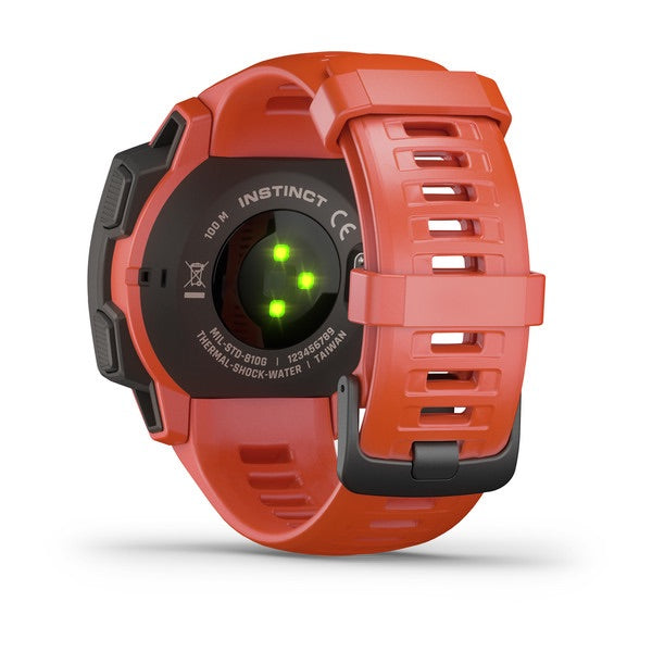 Instinct - Blaze Red, Watch, Garmin - Averys Motorcycles