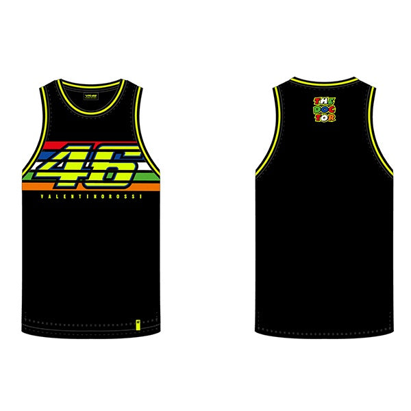 VR46 Stripes Tank Top, T-shirt, VR46 - Averys Motorcycles