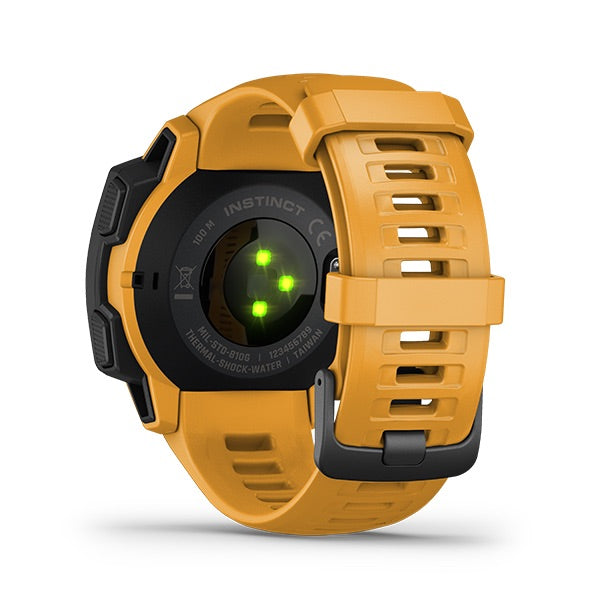 Instinct - Sunburst Orange, Watch, Garmin - Averys Motorcycles