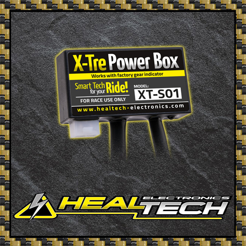 Healtech X-Tre Power Box, Power Derestrictor, Healtech - Averys Motorcycles