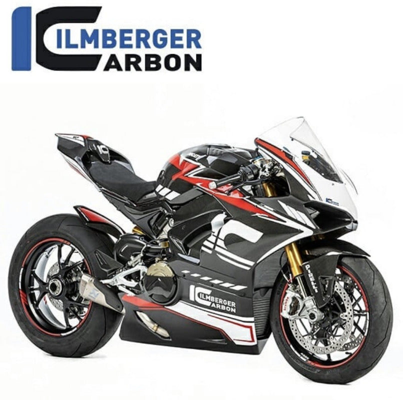 Ducati Panigale V4/V4S, Carbon Parts, Ilmberger Carbonparts - Averys Motorcycles