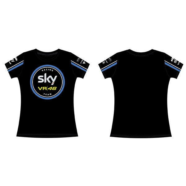VR46 Sky Team Ladies T-shirt, Ladies T-Shirt, VR46 - Averys Motorcycles