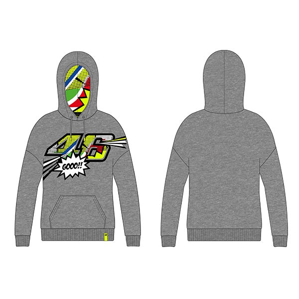 Pop Art, Hoodie, VR46 - Averys Motorcycles