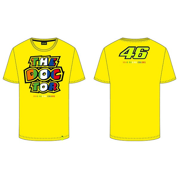 VR46 Stripes T-Shirt, T-shirt, VR46 - Averys Motorcycles