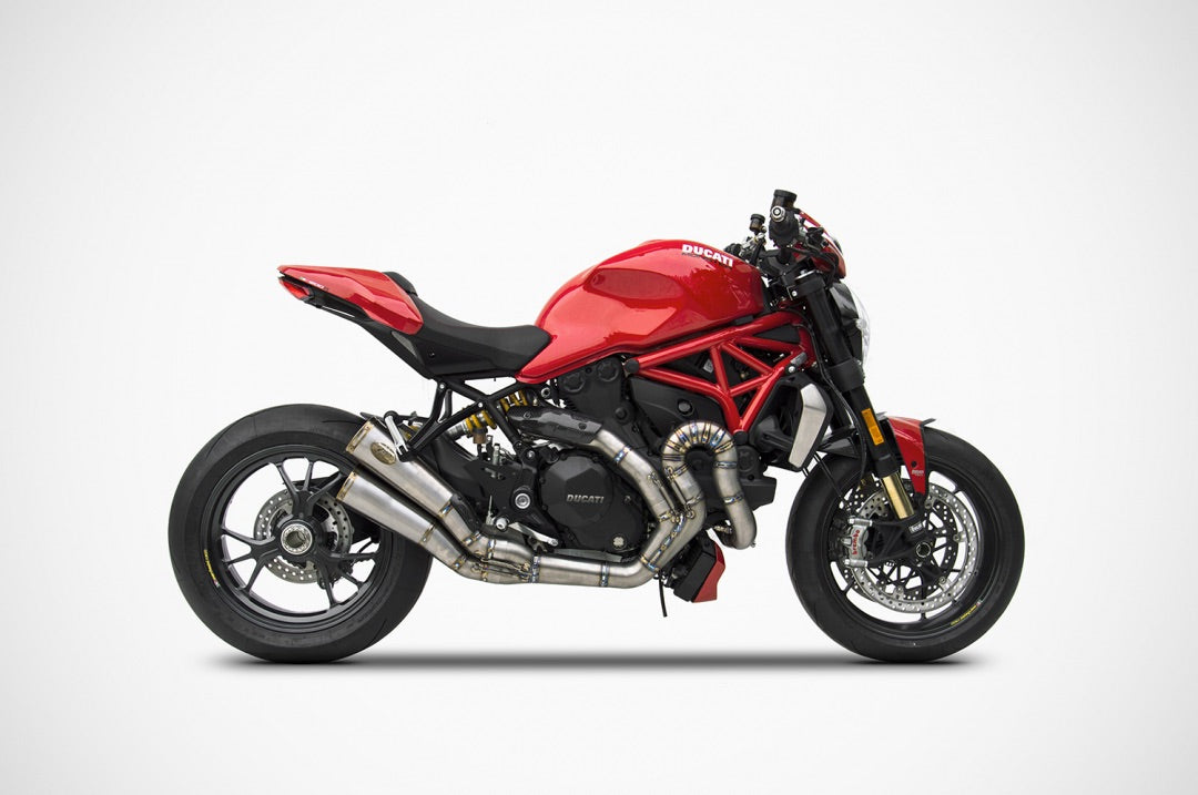Ducati Monster 1200, Exhaust, Zard - Averys Motorcycles