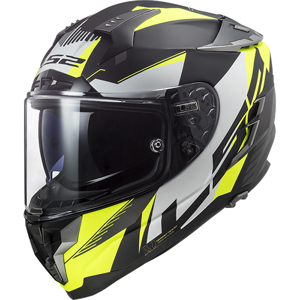LS2 Challenger HPFC Squadron, Helmet, LS2 - Averys Motorcycles