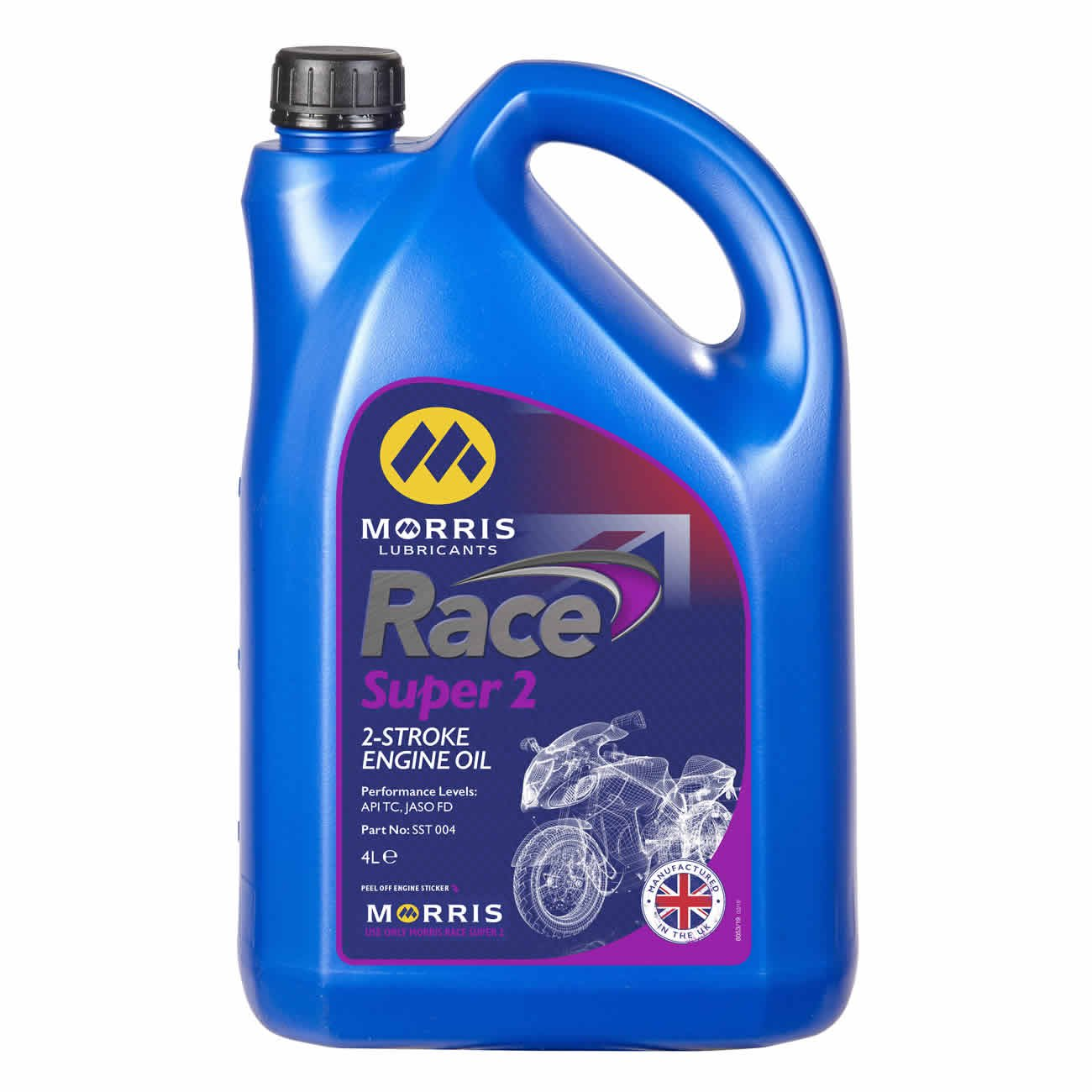 Race Super 2T, Engine Oil, Morris Lubricants - Averys Motorcycles