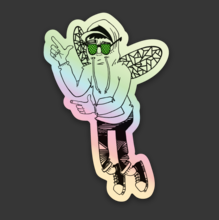 Bug Mane Sticker 2 HOLOGRAPHIC