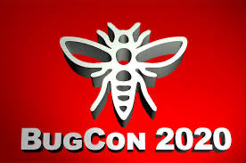 BugCon 2020 convention badge