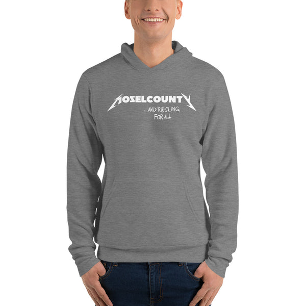 "Moselcounty Hoodie ""and Riesling for all"""