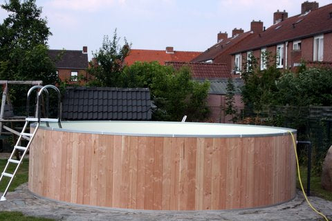 Pool, Rundbecken Set Ø 400x120cm, IH0,8mm Sand