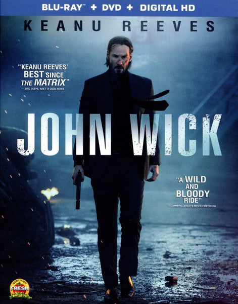 John Wick [Bluray Disc Only] - OnlyTheDisc