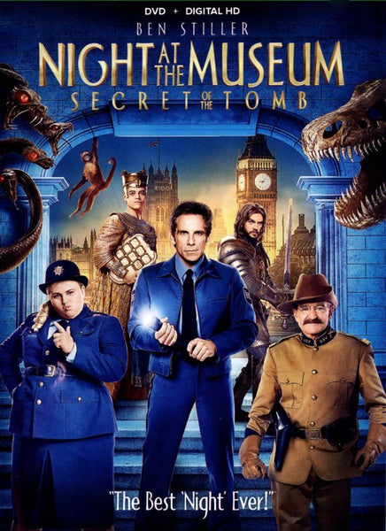 Night At The Museum: Secret Of The Tomb [DVD Disc Only] - OnlyTheDisc